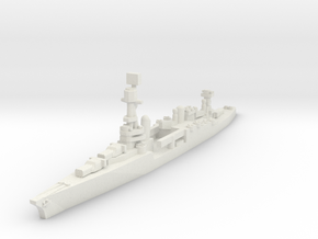 Northampton class cruiser 1/1800 in White Natural Versatile Plastic