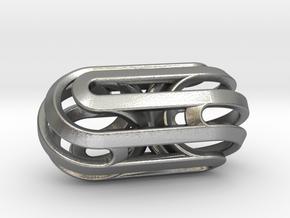 Sphericon Fission in Natural Silver