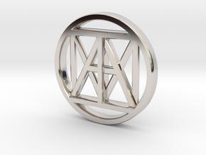 United IAM 38mm Coin in Platinum