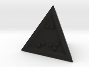 Braille D4 Mark II in Black Natural Versatile Plastic