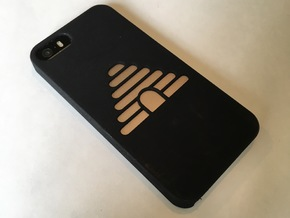 Beehive iPhone 5/SE Case in Black Natural Versatile Plastic