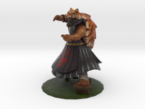 Classic Tiger Udyr in Full Color Sandstone
