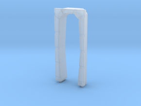 Door Frame in Smooth Fine Detail Plastic