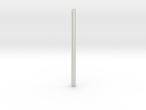 1:72 scale Navy whip antenna -Square (35 foot) 10  in White Natural Versatile Plastic