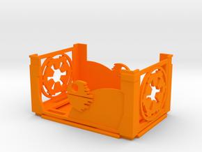 Damage Deck and Lid in Orange Processed Versatile Plastic