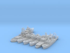 Cod War Set 1 - 1/1250 and 1/1800 in Smooth Fine Detail Plastic: 1:1250