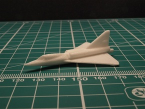 Convair F2Y Sea Dart 6mm 1/285 (in flight) in White Natural Versatile Plastic