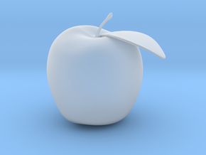 Apple in Smooth Fine Detail Plastic