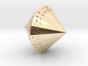 D36 in 14K Yellow Gold