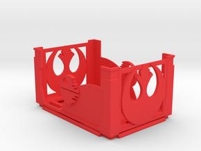 Damage Deck and Lid Rebel in Red Processed Versatile Plastic