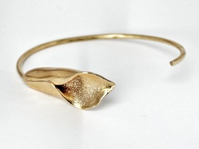 Lilly Bracelet Small in Raw Brass