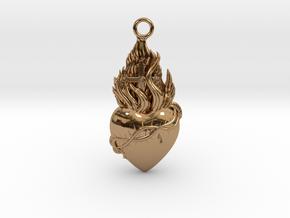 PITTI Big Pendant in Polished Brass