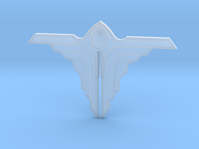 Angel 01 - 50mm in Smooth Fine Detail Plastic