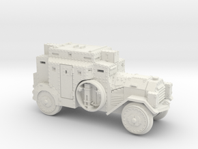 SdKfz3 (15mm) in White Strong & Flexible