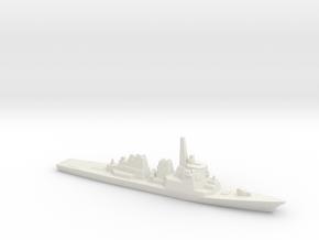 Kongo-class Destroyer, 1/3000 in White Natural Versatile Plastic