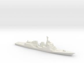 Atago-class Destroyer, 1/3000 in White Natural Versatile Plastic