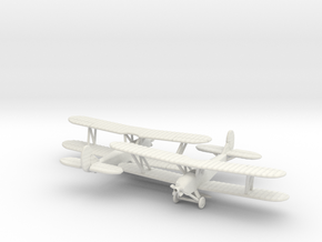 Polikarpov PO-2 1/200 in White Natural Versatile Plastic