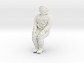 Gemini Astronaut 1:48 in White Natural Versatile Plastic