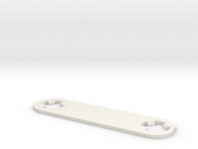 Raspberry Pi Cam Lens Adjustment Wrench in White Natural Versatile Plastic