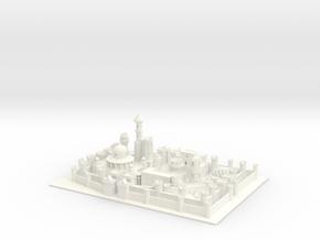 Winterfell in White Processed Versatile Plastic