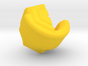 Kinda Macaroni in Yellow Processed Versatile Plastic