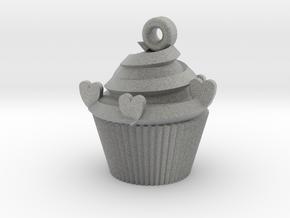 Cake pendant in Metallic Plastic