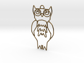 Owl in Polished Bronze