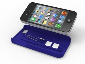 SIMPLcase - iPhone 4 / 4s case for travelers in White Natural Versatile Plastic