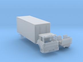 N-scale Cargostar w/22 Foot Box Van in Smoothest Fine Detail Plastic