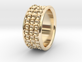 Rln0005 in 14k Gold Plated Brass