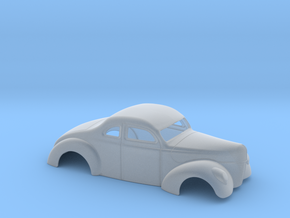 1/64 1940 Ford Coupe 3 Inch Chop in Frosted Extreme Detail
