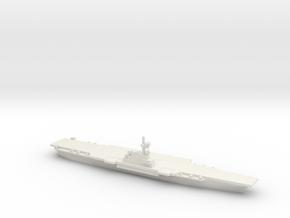 Verdun-class Aircraft Carrier (PA58), 1/2400 in White Natural Versatile Plastic