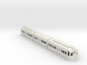 CTA 51-54 Series, Skokie Swift Version in White Natural Versatile Plastic