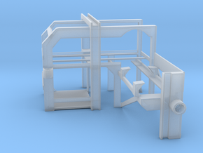 1/72 Depth Charge Loader Rack in Smooth Fine Detail Plastic
