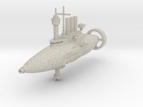 Jarv-densor Class Torpedo Cruiser in Natural Sandstone