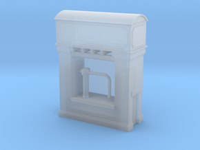 (1:450) GWR Water Tower #1 in Smooth Fine Detail Plastic