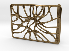 Belt Buckle 'Connect' in Natural Bronze