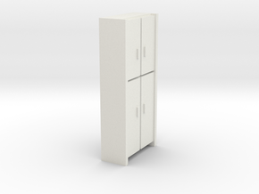 A 006 Cabinet HO in White Strong & Flexible