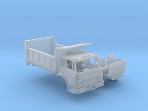 N-Scale Cargostar W/Dump Bed in Smoothest Fine Detail Plastic