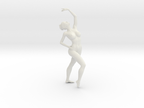 1/18 Nude Dancers 001 in White Natural Versatile Plastic