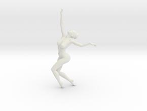 1/18 Nude Dancers 007 in White Natural Versatile Plastic