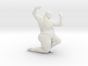 1/20 Fat Man 011 in White Strong & Flexible