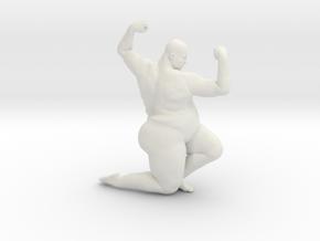 1/20 Fat Man 011 in White Natural Versatile Plastic