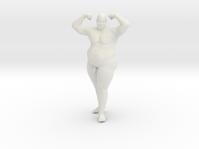 1/20 Fat Man 012 in White Strong & Flexible