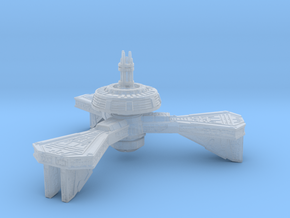 Space Station High Detail in Smooth Fine Detail Plastic