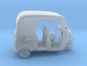 Auto Rickshaw / Tuk Tuk, OO-Scale 1:76 in Smooth Fine Detail Plastic