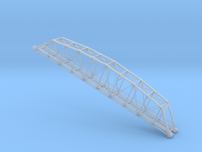 Truss Bridge Z Scale in Smooth Fine Detail Plastic