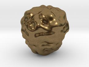 Fantasy Rock Asteroid in Natural Bronze