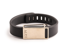 Rasa slide for Fitbit Flex in Raw Brass
