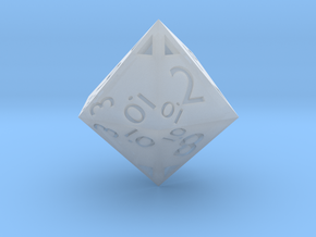 Sphericon-based d12: hollow in Smooth Fine Detail Plastic